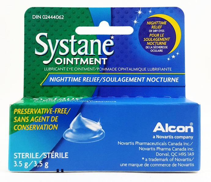 SYSTANE NIGHT EYE OINTMENT 3.5G