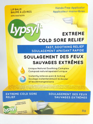 LYPSYL EXTREME COLD SORE RELIEF 8G - NorthernVitality.us