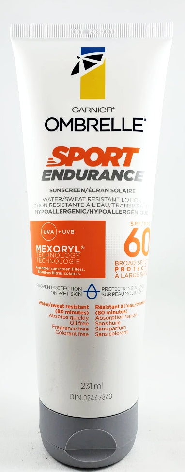 OMBRELLE SPORT ENDURANCE LOTION SPF 60+ 231ML - NorthernVitality.us