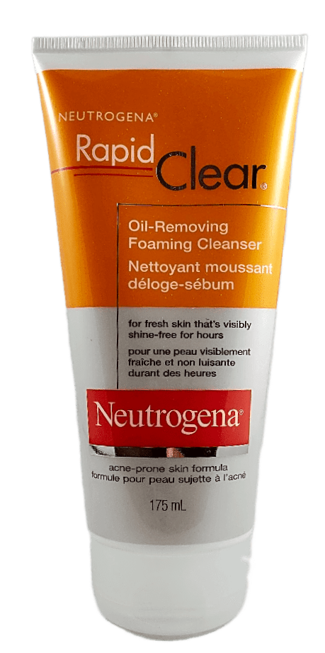 NEUTROGENA RAPID CLEAR CLEANSER FOAM 175ML - NorthernVitality.us