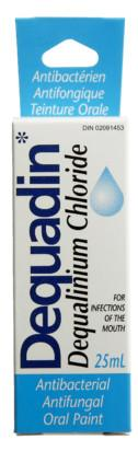 DEQUADIN ANTIBAC ORAL PAINT 25ML - NorthernVitality.us