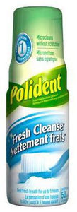 POLIDENT FRESH CLEANSE FOAMING DENTURE CLEANSER 125ML - NorthernVitality.us