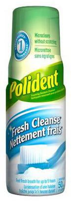 POLIDENT FRESH CLEANSE FOAMING DENTURE CLEANSER 125ML - Queensborough Community Pharmacy