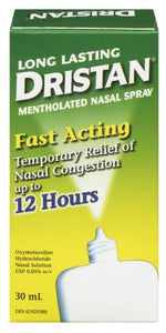 DRISTAN L.L. MENTHOL SPRAY 30ML - Queensborough Community Pharmacy