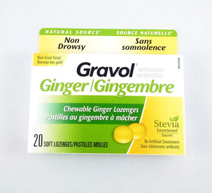 GRAVOL GINGER SOFT CHEW LOZ 20'S - NorthernVitality.us