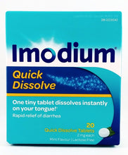 Load image into Gallery viewer, IMODIUM QUICK DISSOLVE 20'S - NorthernVitality.us