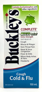BUCKLEY'S CMPLT + MUCOUS RELF COUGHCOLD & FLU 150ML - NorthernVitality.us