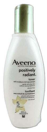 AVEENO POSITIVE RADIANT TONER 200ML - NorthernVitality.us