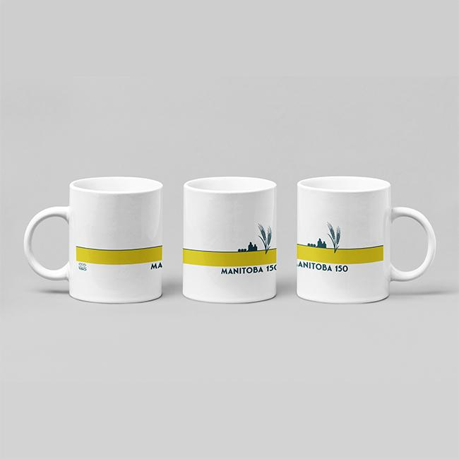 Manitoba 150 - Wheat Field Ceramic Mug
