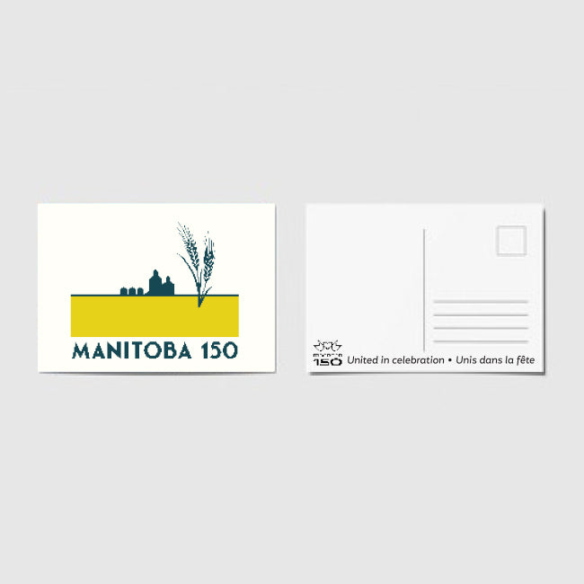 Manitoba 150 - Wheat Fields Postcard