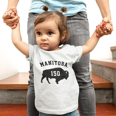 Manitoba 150 Bison - Kids T-Shirt