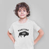 Manitoba 150 Bison Youth T-Shirt