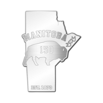 Manitoba 150 Bison Pin