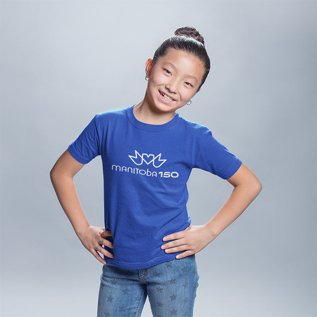 Manitoba 150 Logo - Youth T-Shirt
