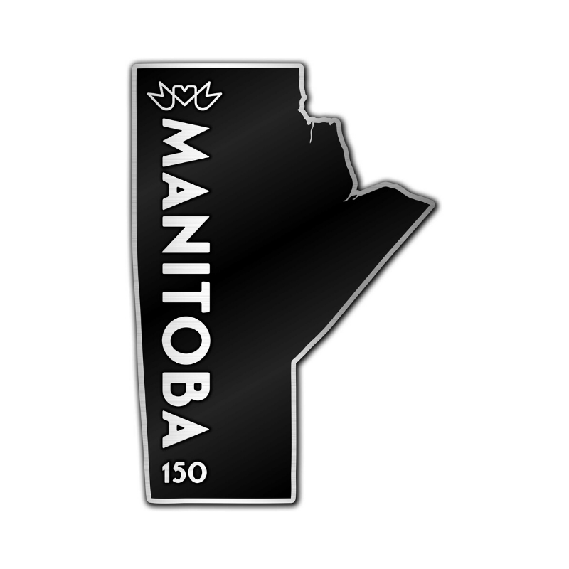Manitoba 150 Vertical Pin