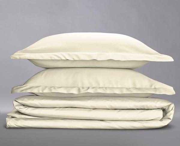 Organic Cotton Sateen Duvet