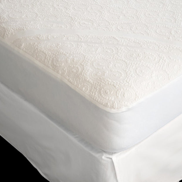 Organic Cotton Knit Mattress Protector