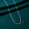 Curb Chain Necklace in Silver