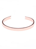 AW Bangle in Rose Gold