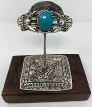 Load image into Gallery viewer, Vintage Turquoise Cuff