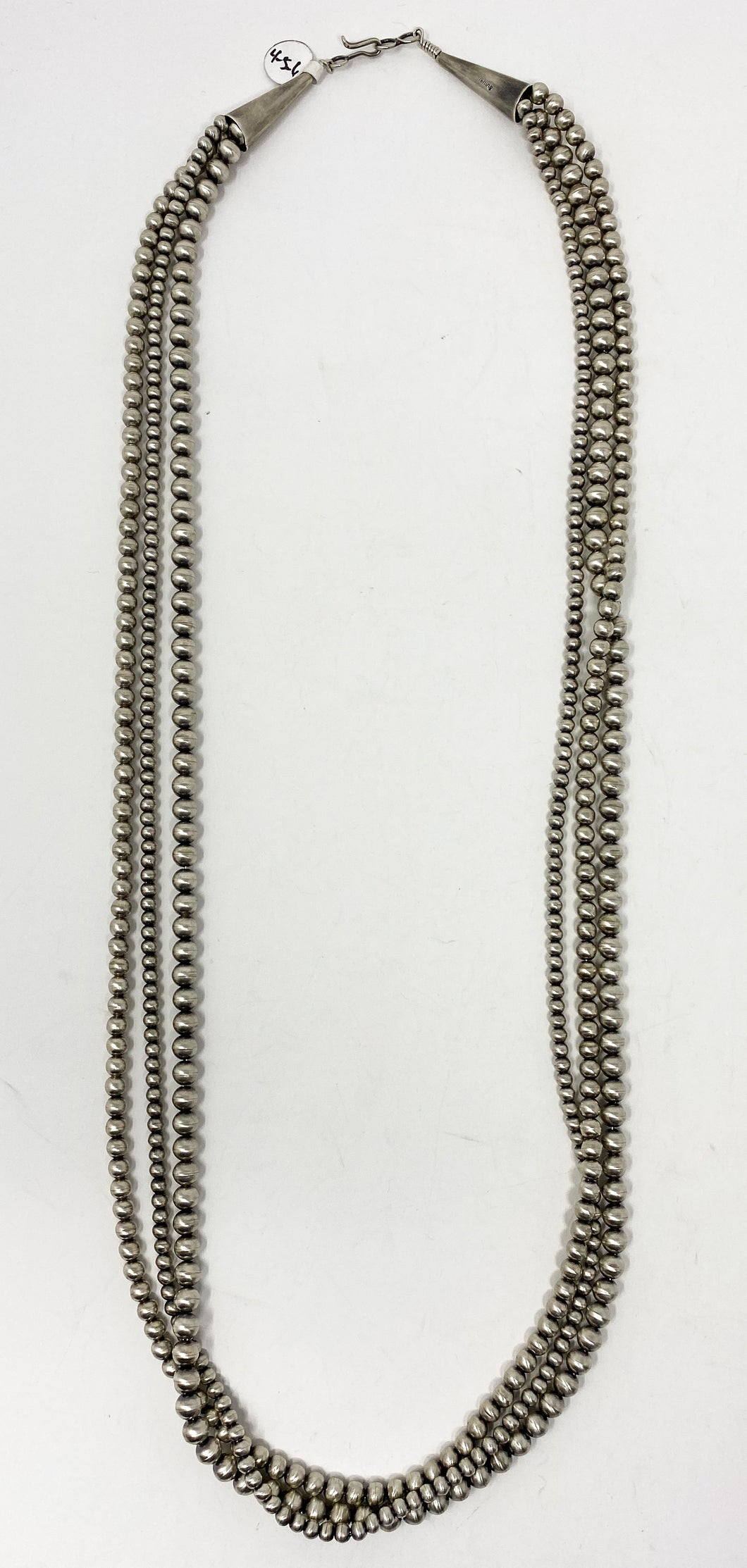 "32"" 3 Strand Native American Pearls"