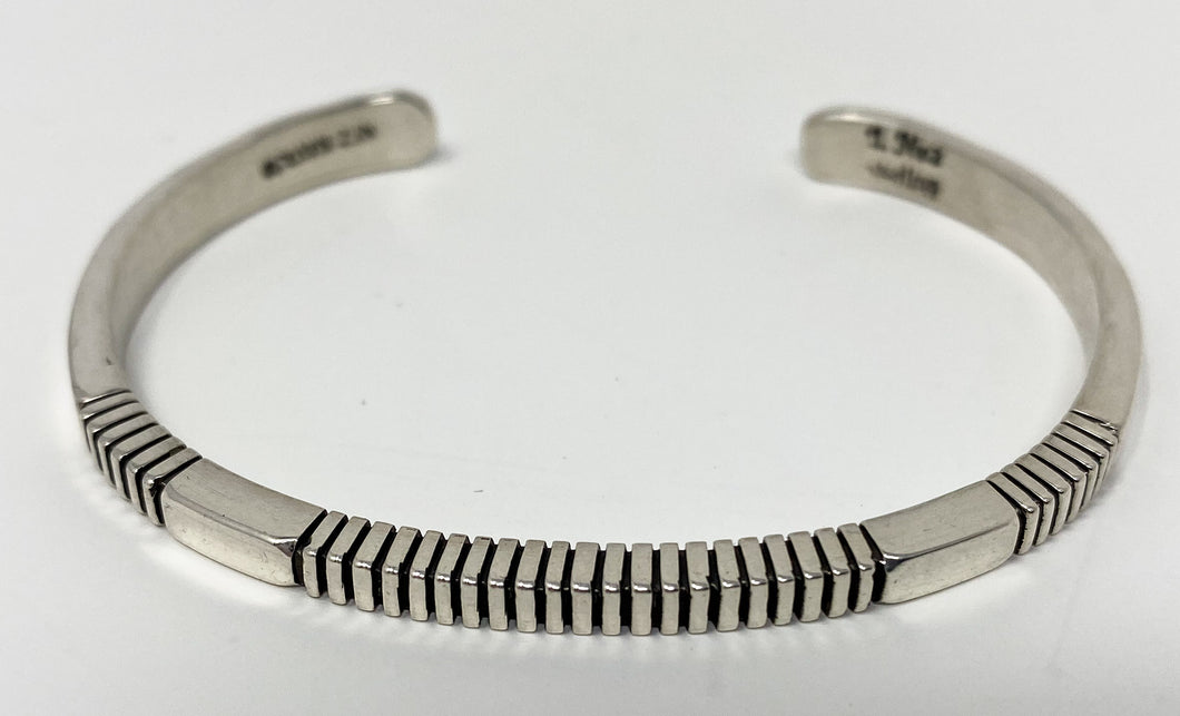 Sterling Silver Stacker Cuff