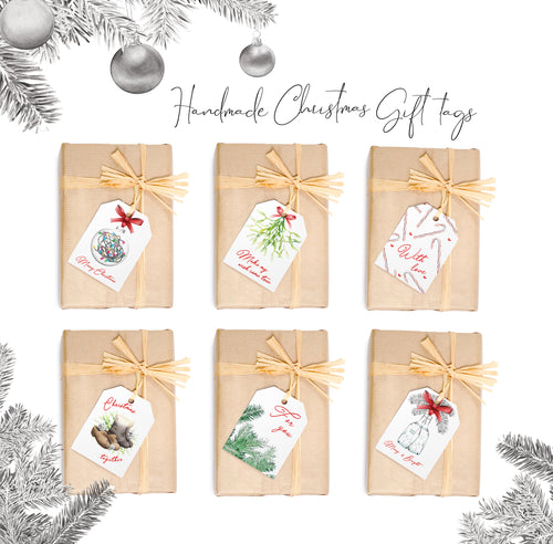 Assorted Christmas Gift Tags Pack