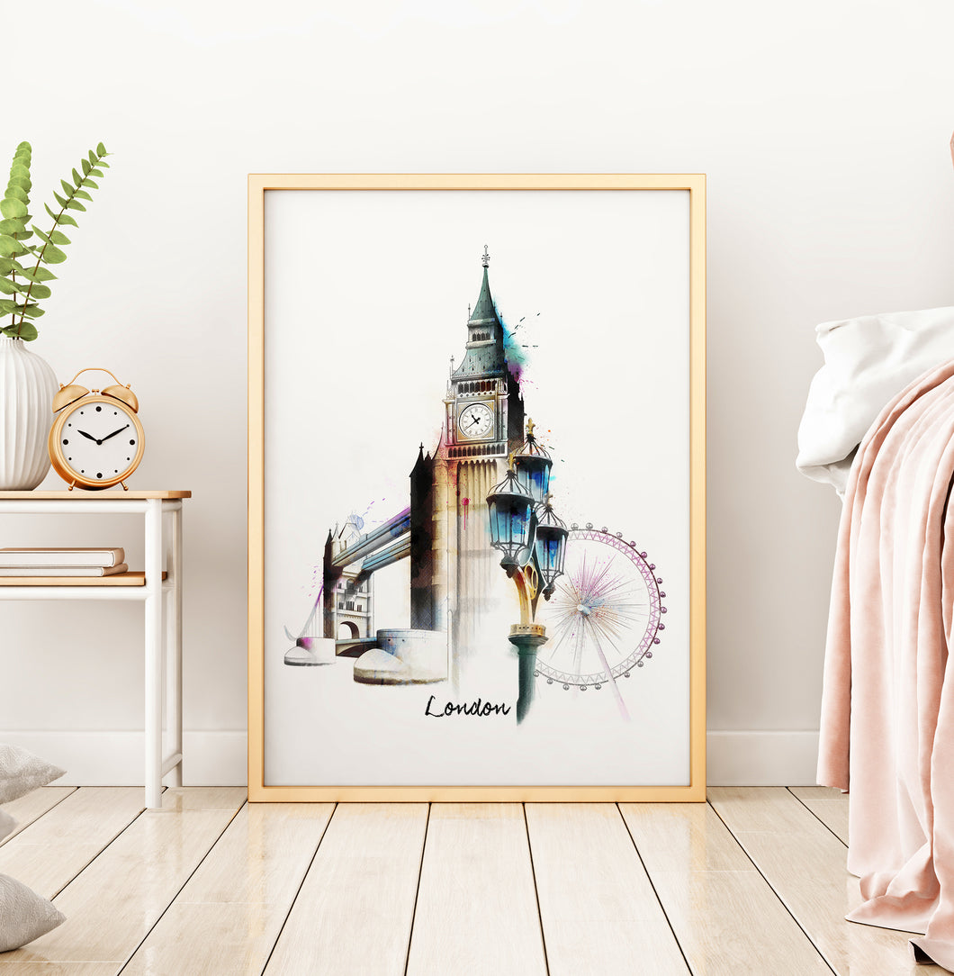 city of london print