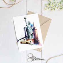 Load image into Gallery viewer, New York City – C6 Greeting Card