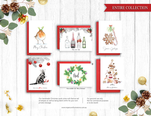 Christmas Card Variety Pack – C6 Greeting Card