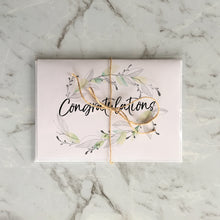 Load image into Gallery viewer, 'Congratulations' Wreath Greeting Card