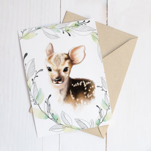 Fawn Greeting Cards