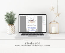 Load image into Gallery viewer, Night Before Christmas Printable Invitation