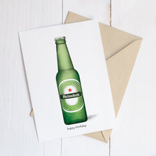 Load image into Gallery viewer, beer card