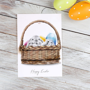 Happy Easter – C6 Greeting Card