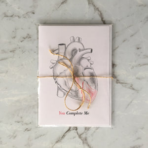 'You Complete Me' Greeting Card