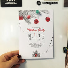 Load image into Gallery viewer, Elegant Printable Christmas Party Invitation