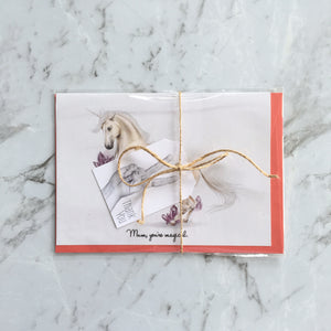 Ready to ship Imperium Illustrations mum your magical unicorn card