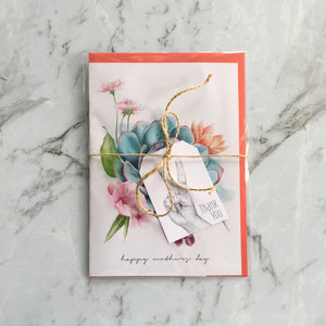 Ready to ship Imperium Illustrations happy mother's day succulents card