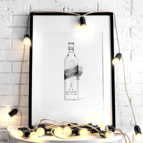 Johnnie Walker Black Label – Art Print