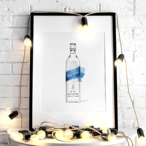 Johnnie Walker Blue Label – Art Print