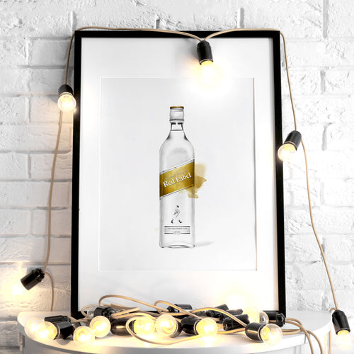 Johnnie Walker Gold Label – Art Print
