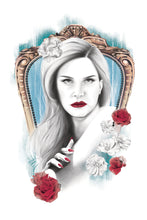 Load image into Gallery viewer, lana dl rey portraiture