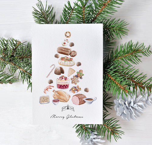 Merry Glutmas – C6 Christmas Card