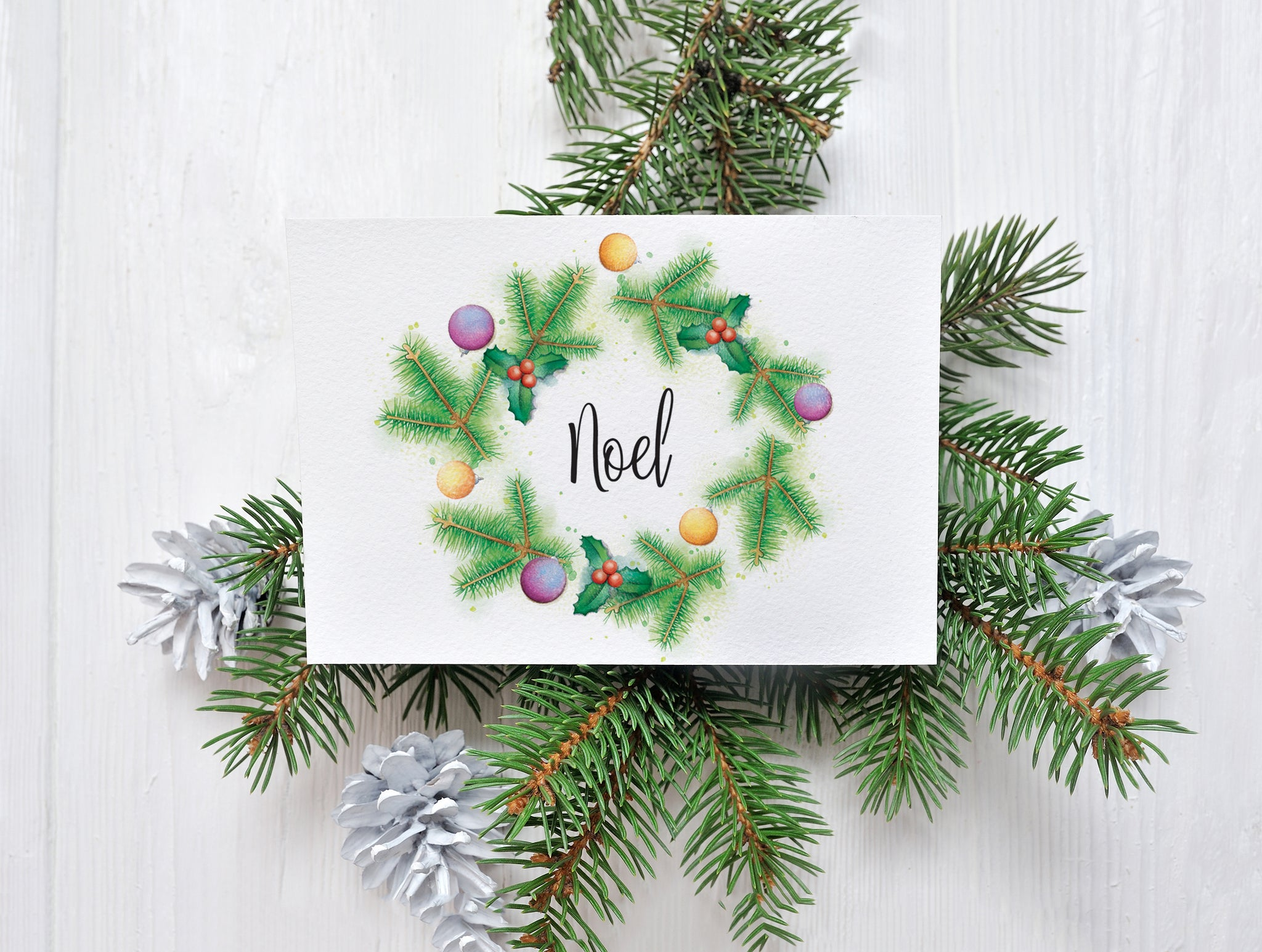 Christmas Card Variety Pack – C6 Greeting Card – Imperium Illustrations
