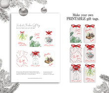 Load image into Gallery viewer, Printable Christmas Gift Tags