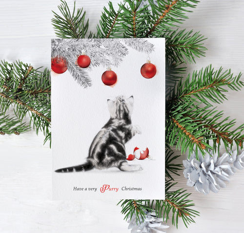 Have A Very Purry Christmas – C6 Christmas Card