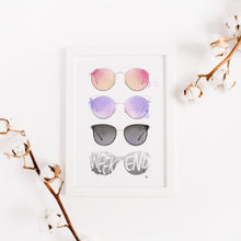 Load image into Gallery viewer, Weekend Sunnies Collage – Art Print