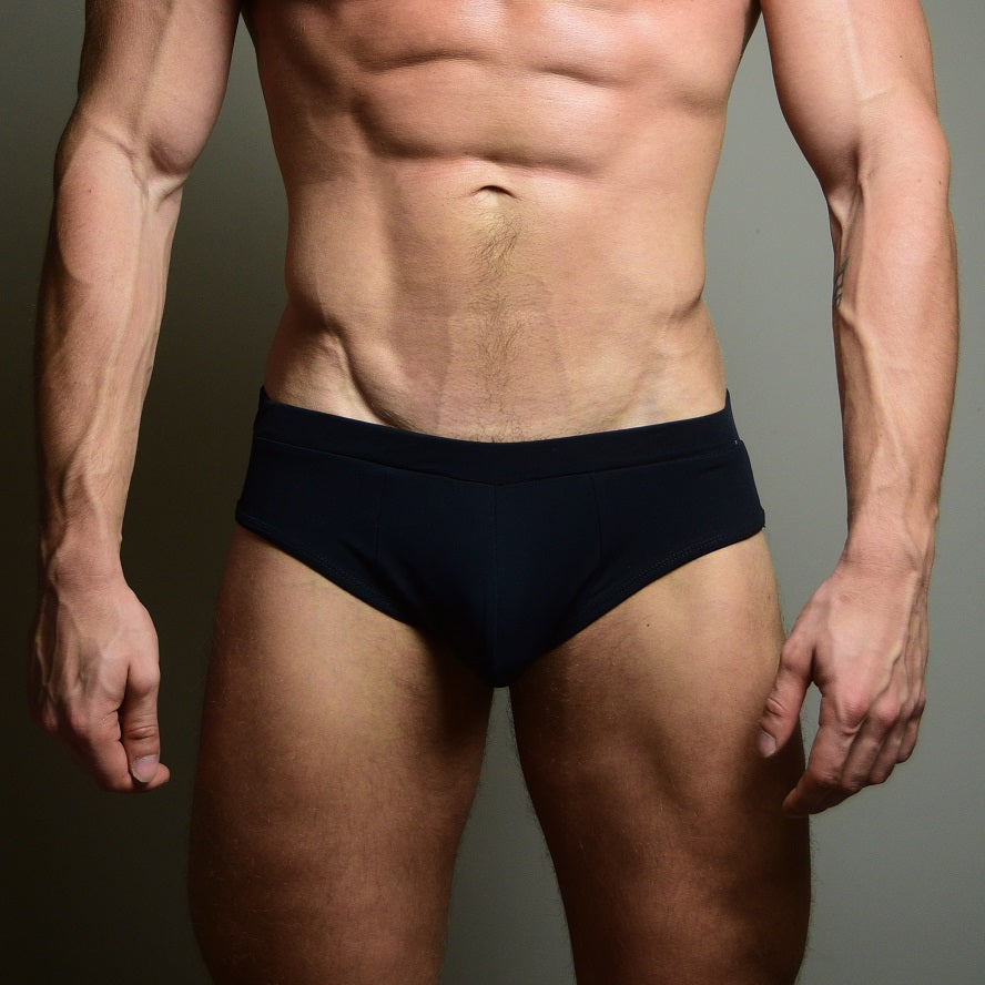 BASIC BLACK swim brief