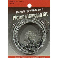 Picture Hanger Kit 6 pc